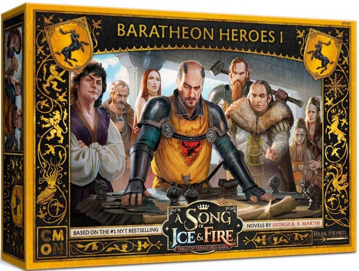 Baratheon Heroes I preview