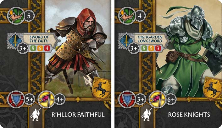 Rose Knights & R'hllor Faithful preview