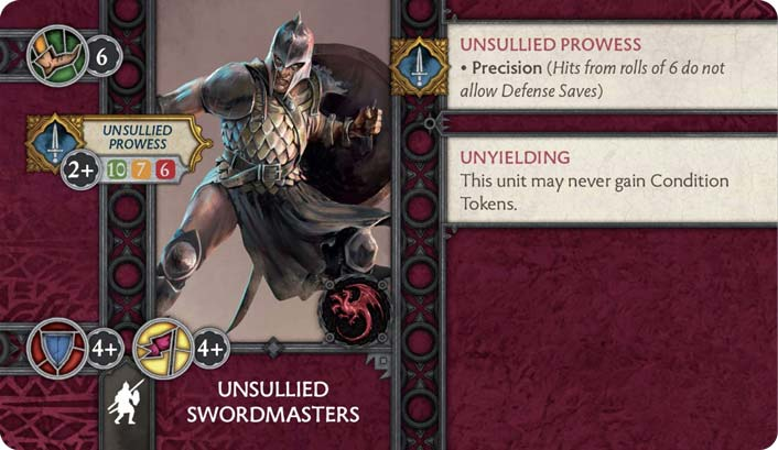 Unsullied Swordmasters preview