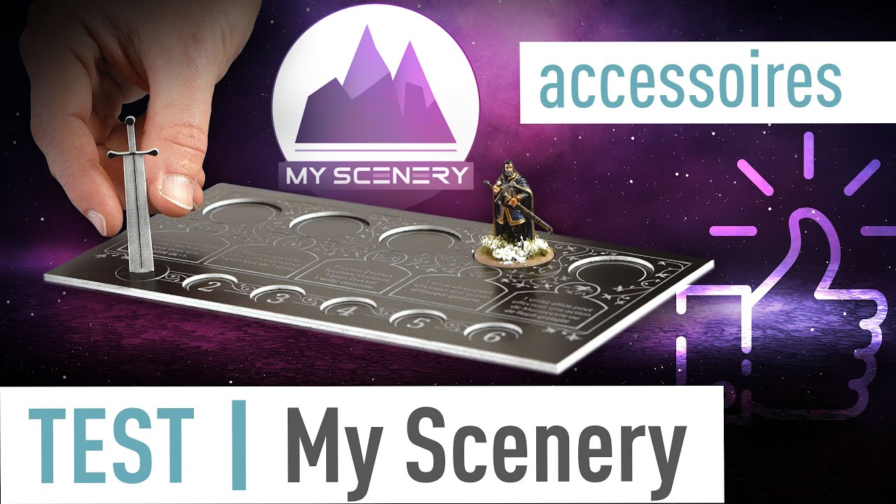 Accessoires My Scenery (vidéo)