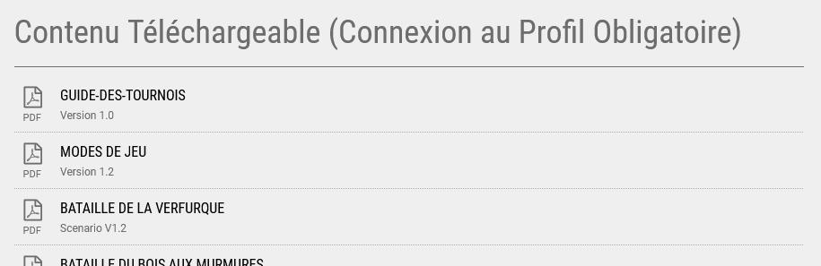 Règles 1.5 en Français