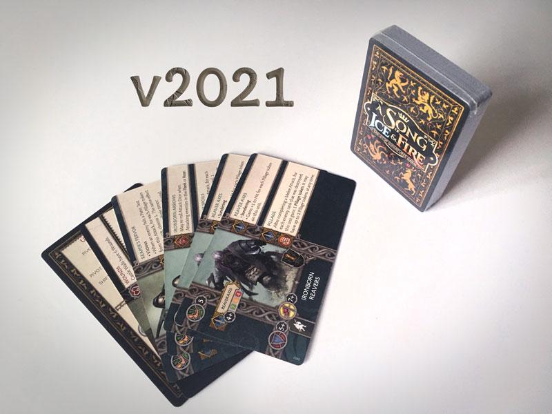 Version 2021 du jeu